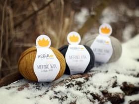 Vlna na pletenie ponožiek Regia Premium Merino Yak