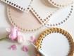 Hardboard Base for Crochet Baskets - 18 cm Circle