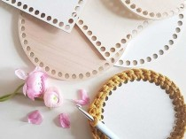 25 cm Hardboard Base for Crochet Baskets