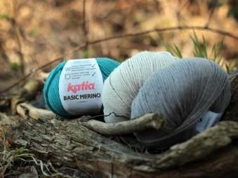 Vlna na pletenie Katia Basic Merino
