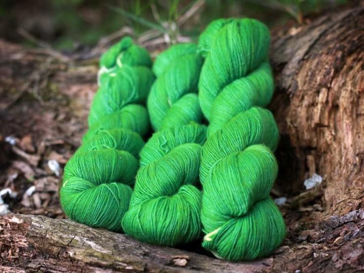 Malabrigo Lace Sapphire Green