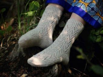 Projektový balíček: ponožky Botanica
