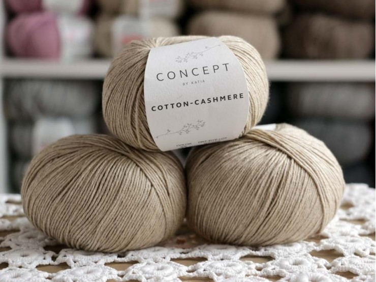 Cotton - Cashmere 55