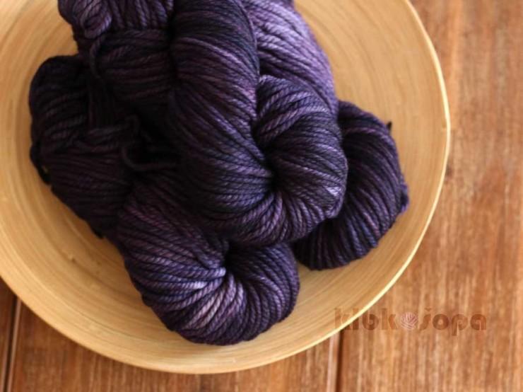 Malabrigo Chunky Violetas