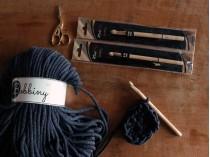 Crochet Hook Knit Pro Basix Birch 12 mm