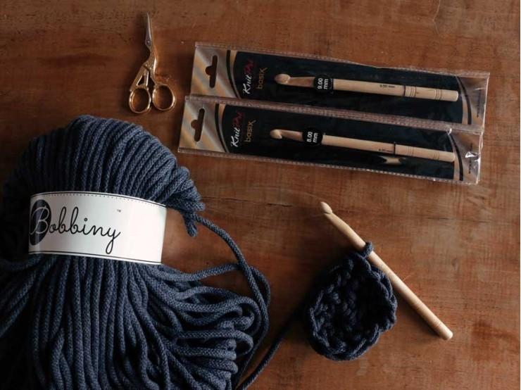 9 mm háčik Knit Pro Basix Birch