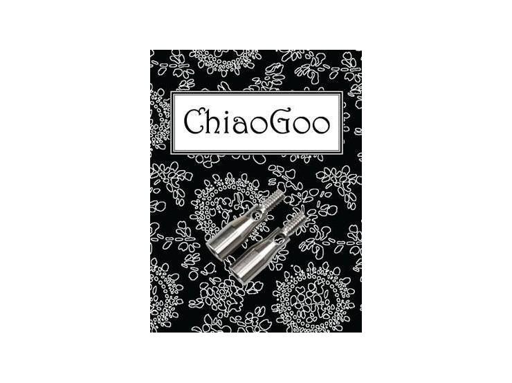 ChiaoGoo adaptér z ihlíc L na lanko S (2 ks)