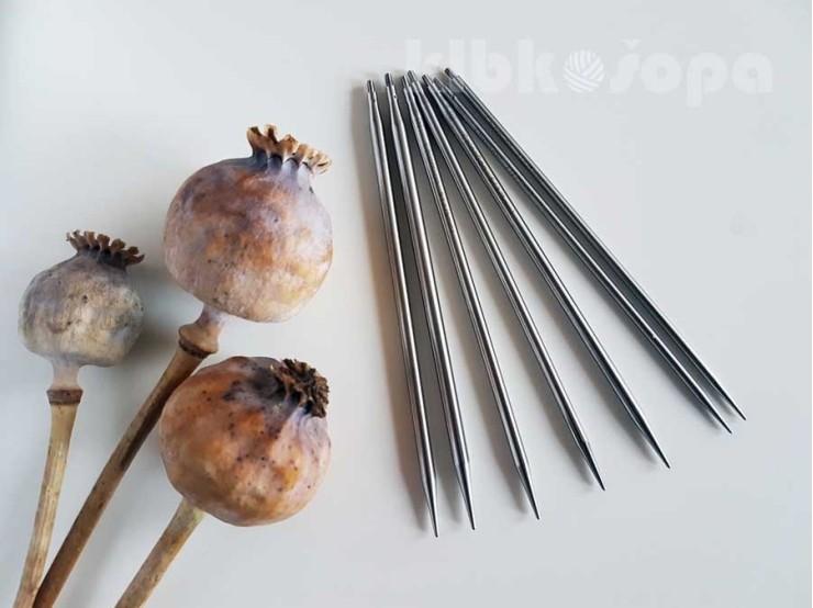 6.00 mm/13 cm (L) špičky ChiaoGoo Twist Lace
