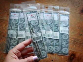 2.25 mm/10 cm (M) špičky ChiaoGoo Twist Lace