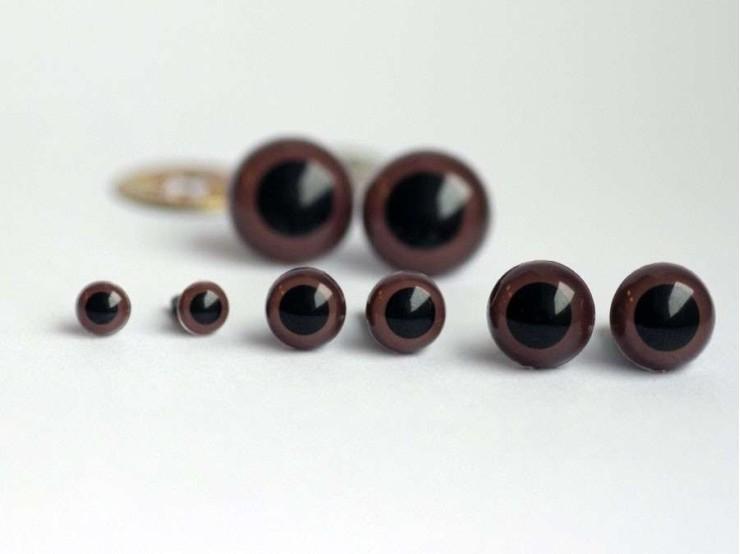6 mm bezpečnostné oči