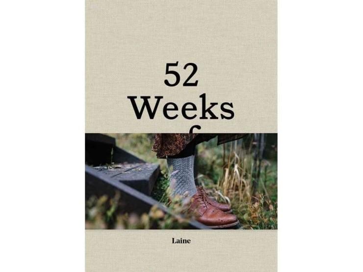 Kniha 52 Weeks of Socks od Laine Magazine