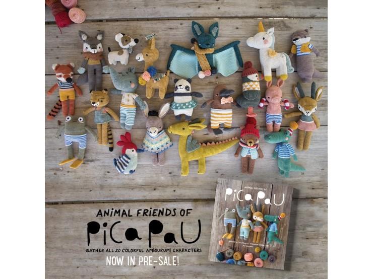 Kniha návodov Animal Friends of Pica Pau