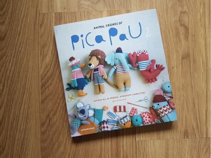 Knihá s návodmi na hračky Animal Friends of Pica Pau 2