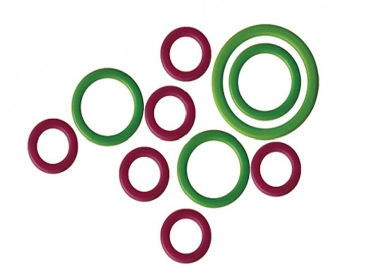 Sada 50 označovačov Knit Pro MIO - krúžky