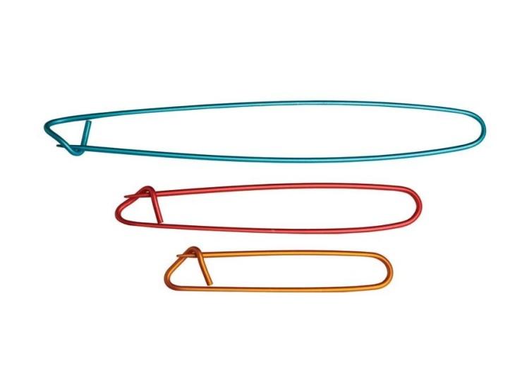 Sada 3 zatváracích pomocných ihlíc Knit Pro