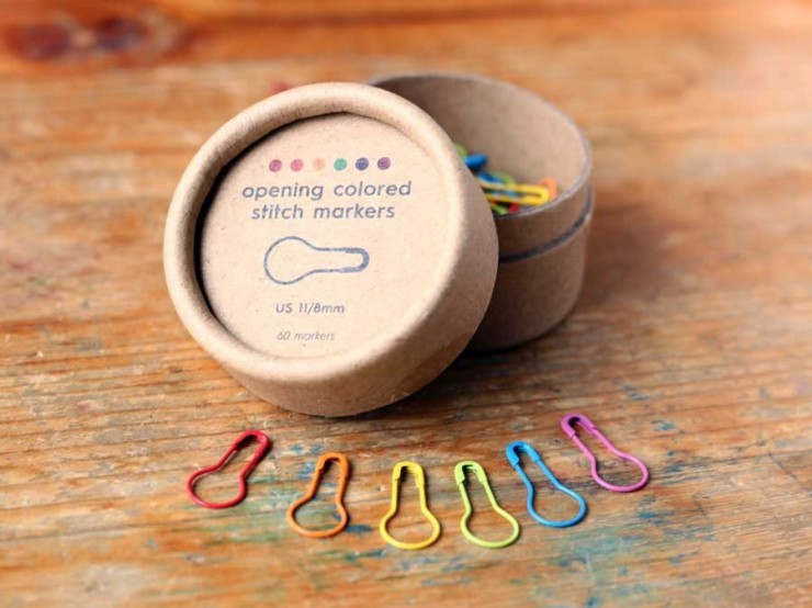 Coco Knits - zatváracie farebné označovače