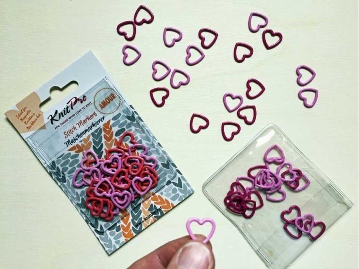 Magnetické označovače na pletenie Knit Pro Amour