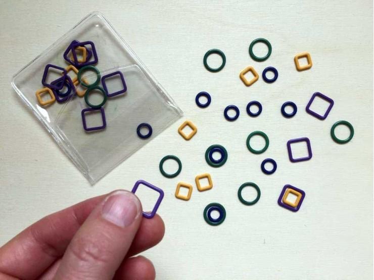 Magnetické označovače Knit Pro Linea