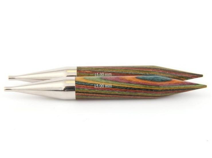 15 mm vymeniteľné ihlice na pletenie Knit Pro Symfonie