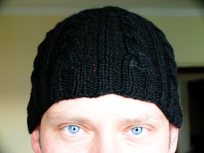 432d80630 Štrikovaná (írska) čiapka (návod) - Klbkošopa - blog