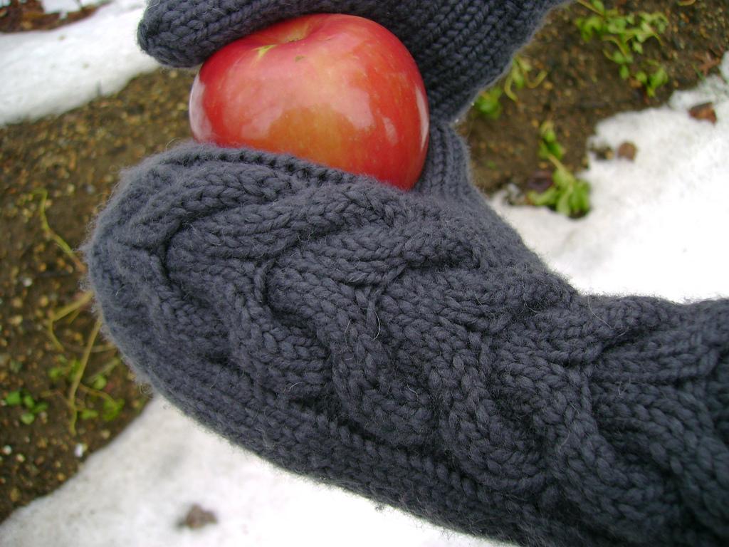 Návod na pletené rukavice