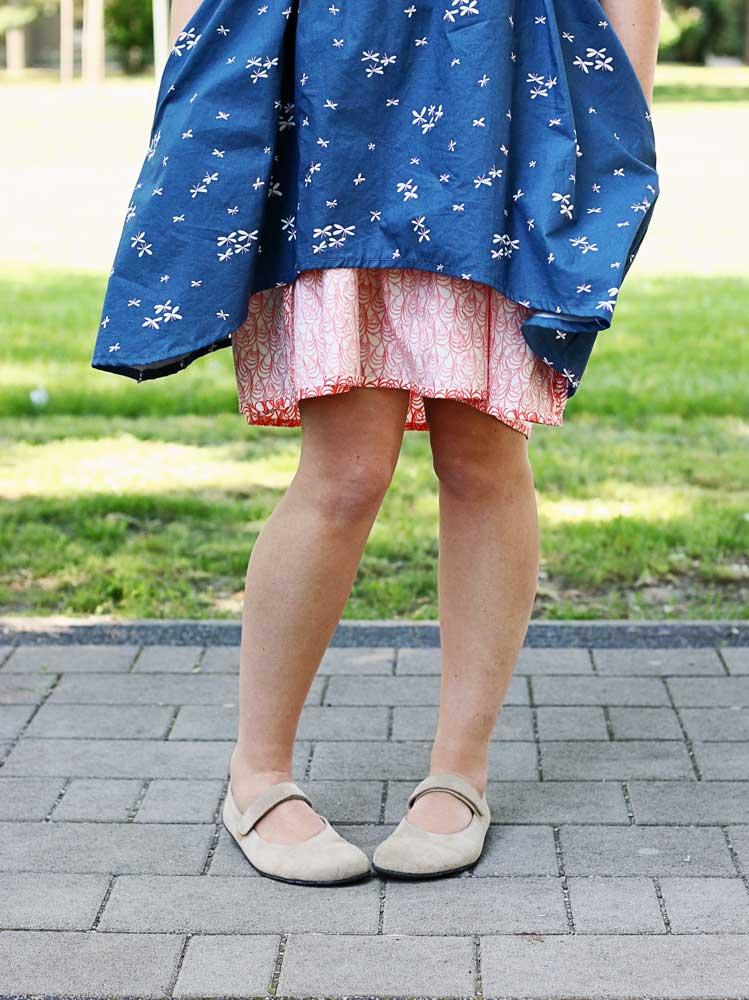 handmade bavlnené šaty