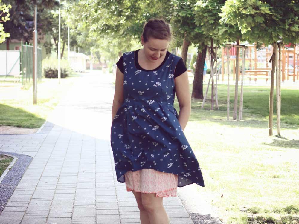 Handmade oblečenie | šaty Metamorphic
