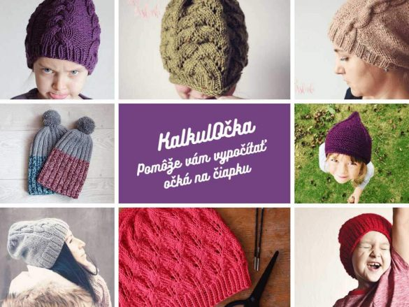 Návod na pletenú čiapku - koľko očiek nahodiť?