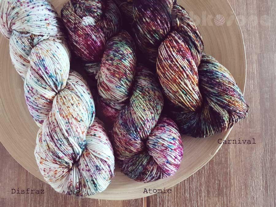 Malabrigo Sock - nové fľakaté farby a inšpirácie
