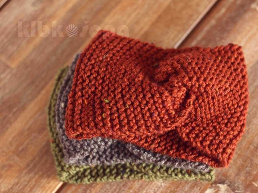 Jesenná inšpirácia z tweedu: pletené čelenky