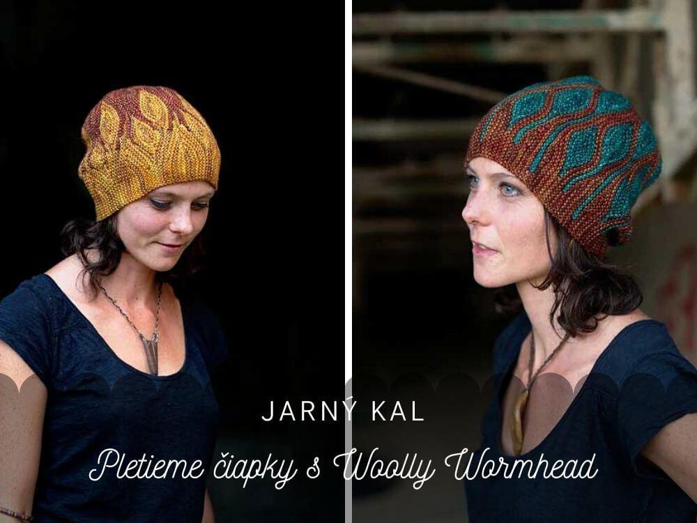 Čiapkový KAL: Upleťme si čiapky s Woolly Wormhead