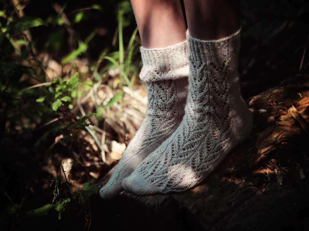 Pletené ponožky Botanica