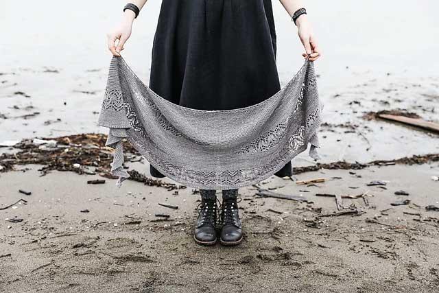 Spoločné pletenie: šatka Waiting for Rain