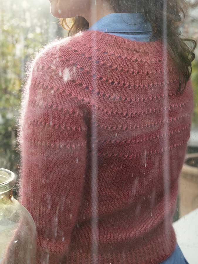 Esplanaden - návod na pletený svetrík