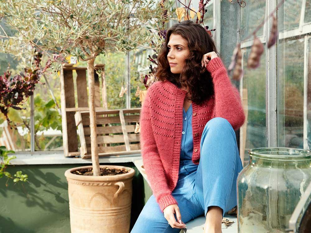 Návod na pletený sveter Esplanaden