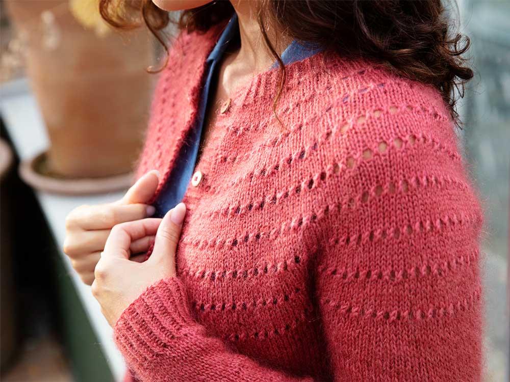 Esplanaden - návod na pletený sveter