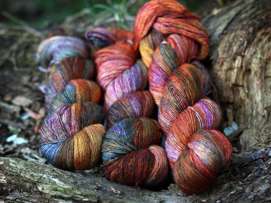 Malabrigo Lace - priadza na pletenie pavučinkových úpletov