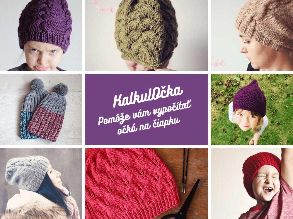 Návod na pletenú čiapku